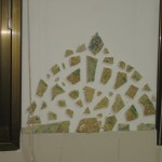 פסיפס קיר במטבח